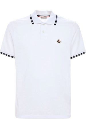 Moncler Men Polo Shirts - Cotton Piqué Polo