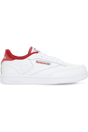Reebok Boys Sneakers - Club C 85 Leather Lace-up Sneakers