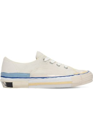 Lanvin Men Sneakers - Melted Low Top Vulcanized Sneakers