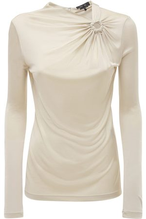 Isabel Marant Women Tops - Dwester Draped Jersey Top