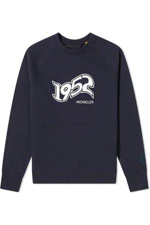 Moncler Genius Men Rainwear - 2 Moncler 1952 Logo Sweat