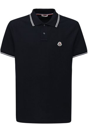 Moncler Cotton Piqué Polo