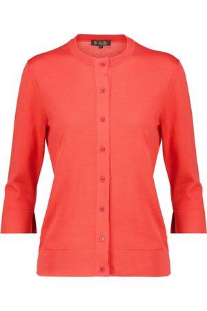 Loro Piana Women Cardigans - Ventotene silk and cotton cardigan