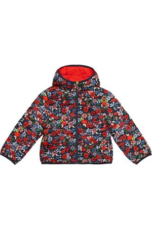BONPOINT Girls Jackets - Satina reversible floral puffer jacket