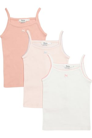BONPOINT Girls Sets - Set of 3 cotton jersey camisoles