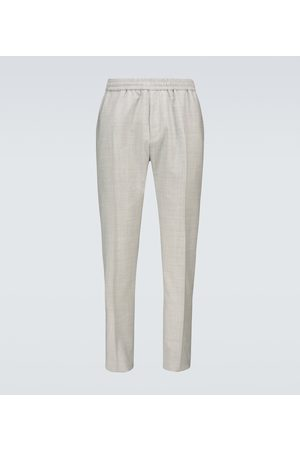 Givenchy Men Formal Trousers - Wool trackpants