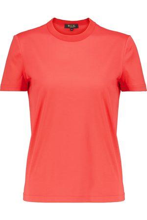 Loro Piana Women Short Sleeve - My-T cotton jersey T-shirt