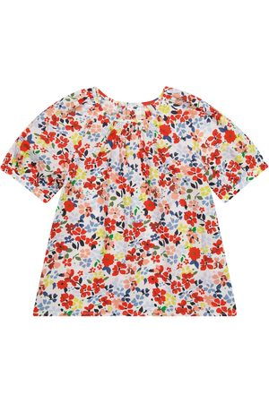 BONPOINT Sourya floral cotton blouse
