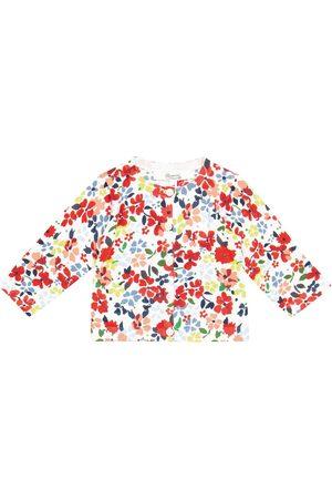BONPOINT Baby floral cotton cardigan