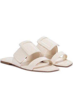 Roger Vivier Women Sandals - Viv' In The City leather slides