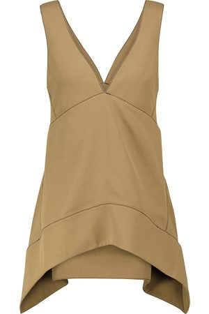 Proenza Schouler Women Tank Tops - Sleeveless asymmetric top
