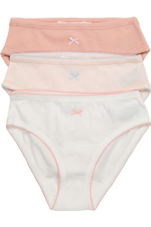 BONPOINT Girls Briefs - Set of 3 cotton jersey briefs