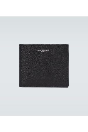 Saint Laurent Men Wallets - Grained leather wallet
