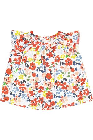 BONPOINT Shirts - Baby Noelle floral cotton blouse