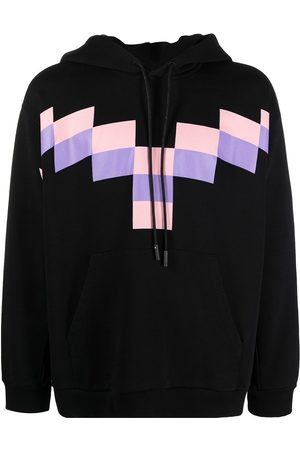 MARCELO BURLON Men Hoodies - Pixel Wings hoodie