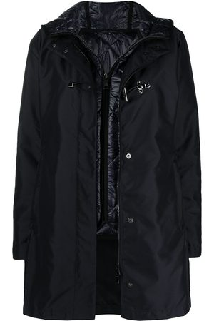 FAY Women Parkas - Hooded layered parka