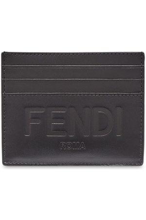 Fendi Debossed logo cardholder