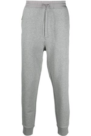 Y-3 Drawstring-waist cotton track trousers