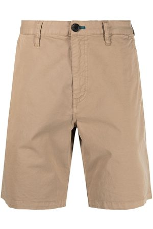 Paul Smith Garment-dyed stretch-cotton shorts