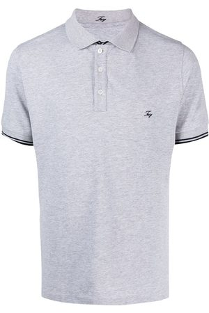 FAY Men Polo Shirts - Embroidered-logo polo shirt
