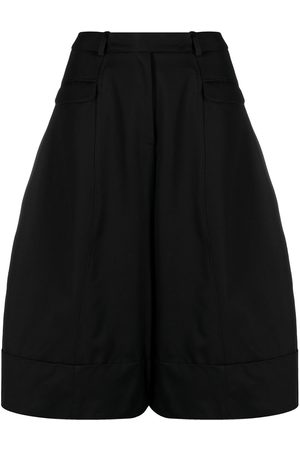 Simone Rocha Women Wide Leg Trousers - Wide leg cropped trousers