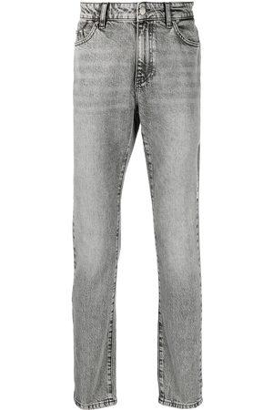 Karl Lagerfeld Men Slim - Slim bleached denim jeans
