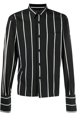 Jean Paul Gaultier Men Tops - 1990s stripe-print shirt