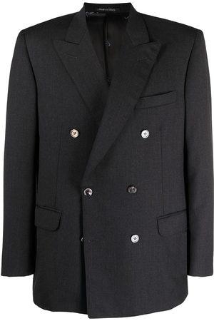 Pierre Cardin 1980s peak lapels double-breasted blazer
