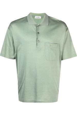 Pierre Cardin 1980s cutaway collar polo shirt