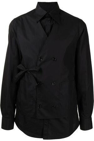 Dolce & Gabbana Men Long Sleeve - Layered cotton shirt