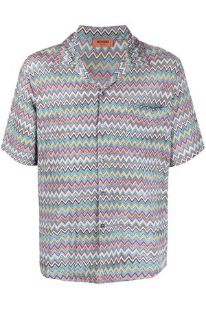 Missoni Zigzag-print short-sleeve shirt