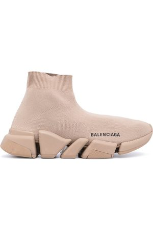 Balenciaga Speed logo-print sneakers