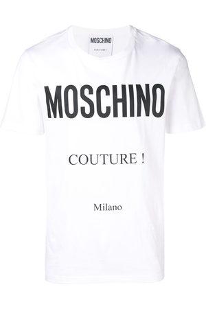 Moschino Men Short Sleeve - Couture! logo T-shirt