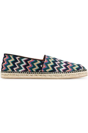 Missoni Men Casual Shoes - Zigzag-print espadrilles