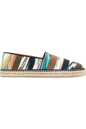 Missoni Men Casual Shoes - Mixed-print espadrilles
