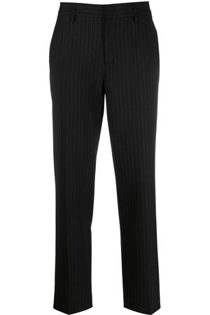 RED Valentino Women Trousers - Cropped pinstriped trousers