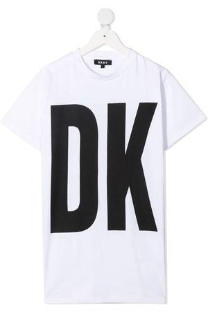DKNY Girls Casual Dresses - Logo T-shirt dress
