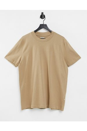 Selected Men Short Sleeve - Relaxed t-shirt in heavy cotton