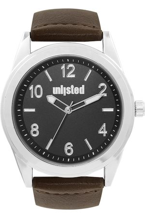 UNLISTED A KENNETH COLE PRODUCTION Men Black Analogue Watch 10032058