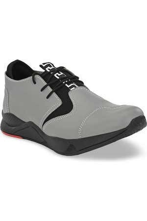 Sir Corbett Men Grey Sneakers