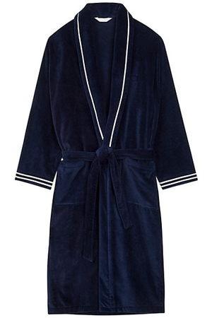 Hom Estaq Striped Cotton Bath Robe