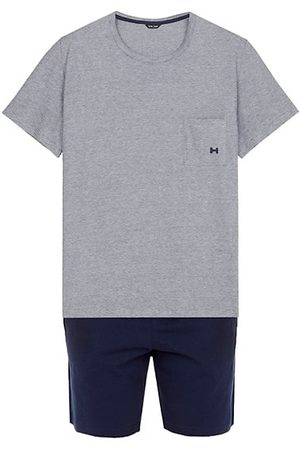 HOM Men Pyjamas - 2-Piece T-Shirt & Shorts Pajama Set