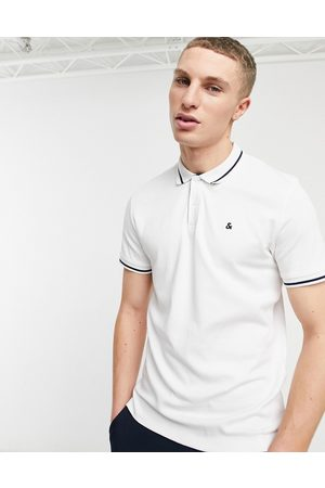 Jack & Jones Men Polo Shirts - Essentials jersey polo in