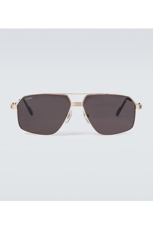 Cartier Eyewear Collection Metal aviator sunglasses