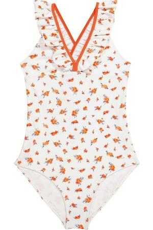 Chloé Kids Floral swimsuit