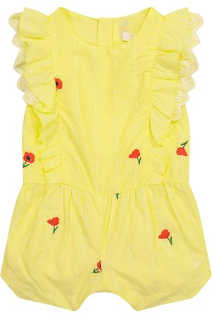 Chloé Kids Baby embroidered cotton bodysuit