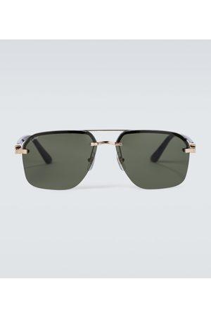 Cartier Eyewear Collection Frameless aviator sunglasses
