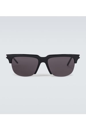 Saint Laurent Square metal and acetate sunglasses
