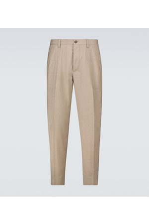 Dolce & Gabbana Stretch-wool tailored pants