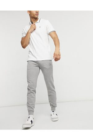 Jack & Jones Intelligence slim jogger in light